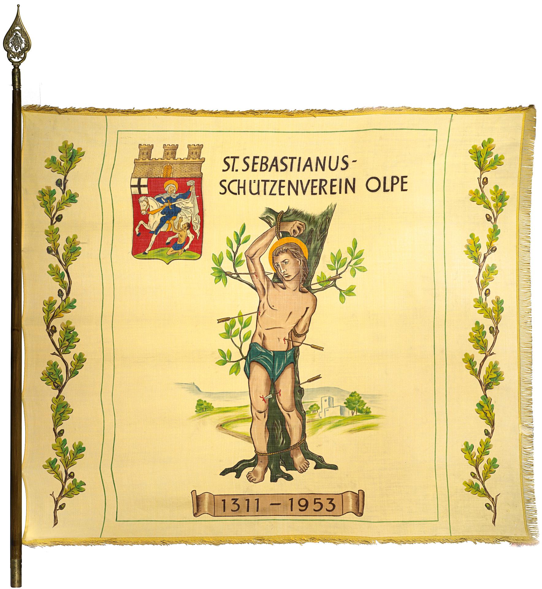 Schützenverein-Olpe-Fahne-1953