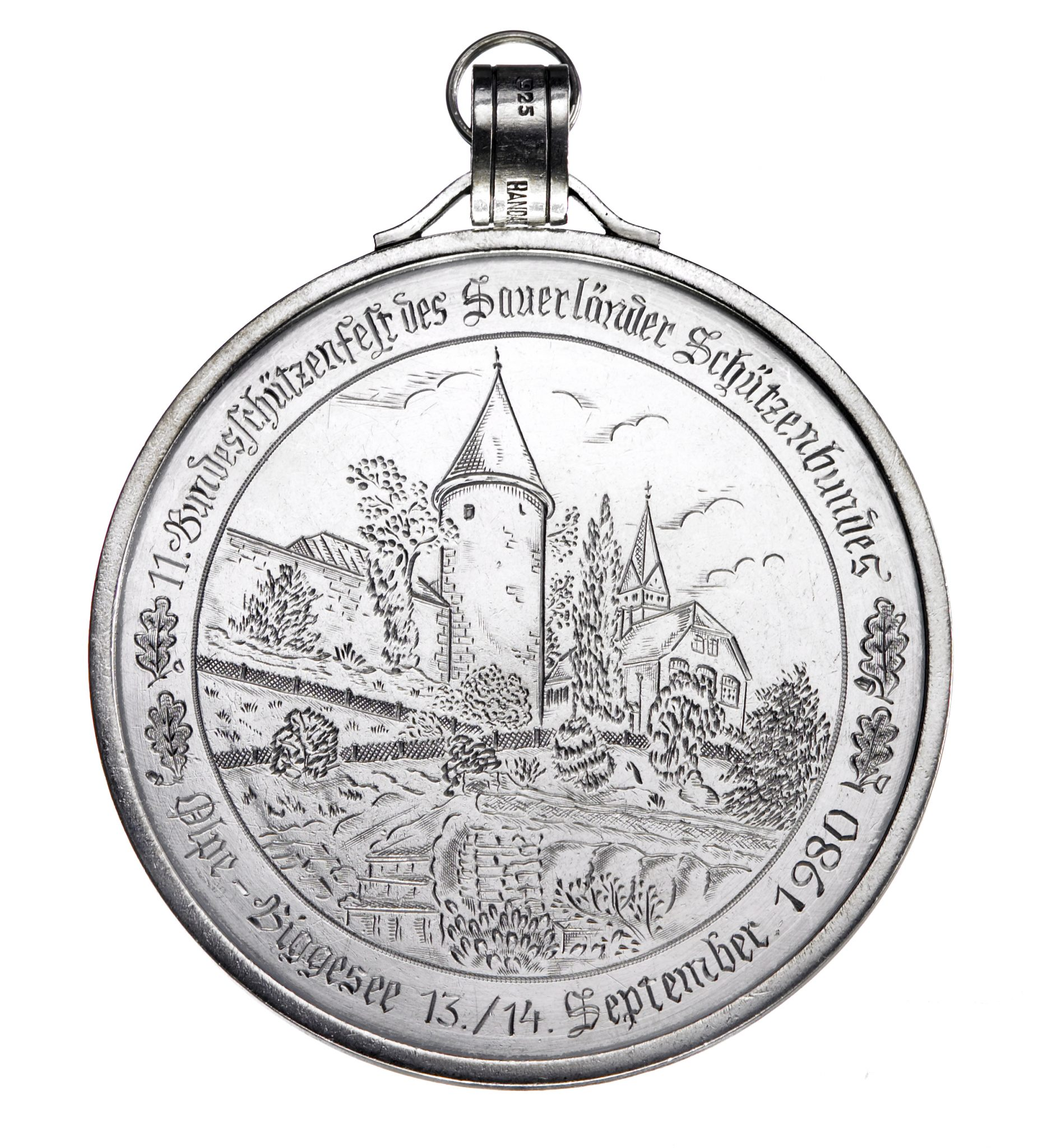 Orden Olper Schützenkönig 1980 - Erich Kuckertz