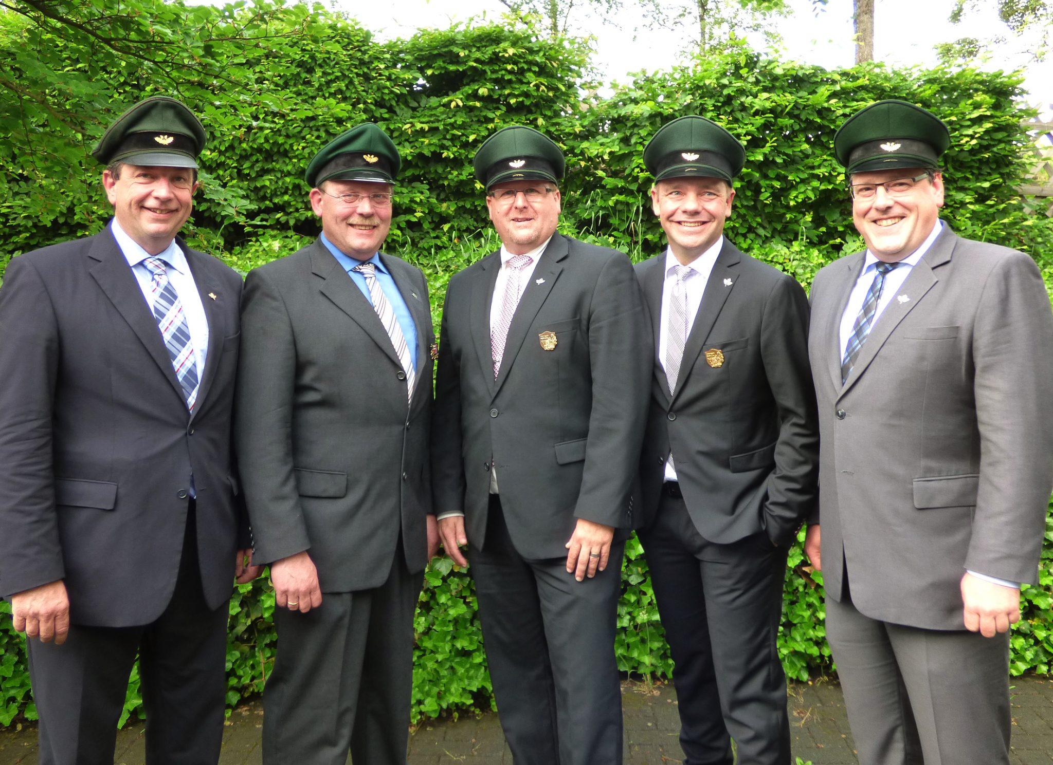 Schützenverein Olpe - Ordensübergabe 2018 - Ehrungen