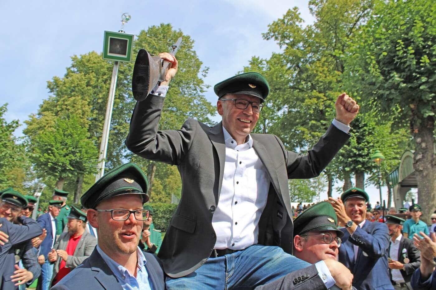 Olper Schützenkönig 2019 Wilhelm Rücker
