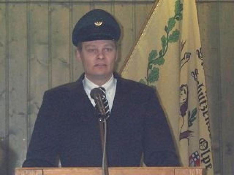 Ordensübergabe 2002 - Schützenkönig André Rumpff