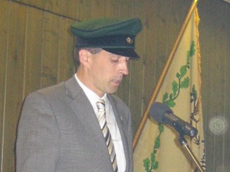 Ordensübergabe 2009 - Leutnant Peter Kliche
