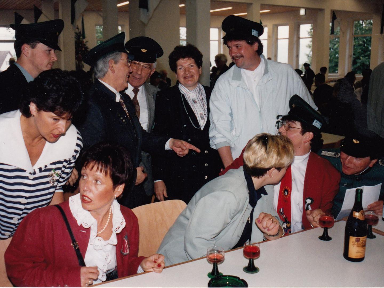 Schützenkönig 1993 - Thomas Menne
