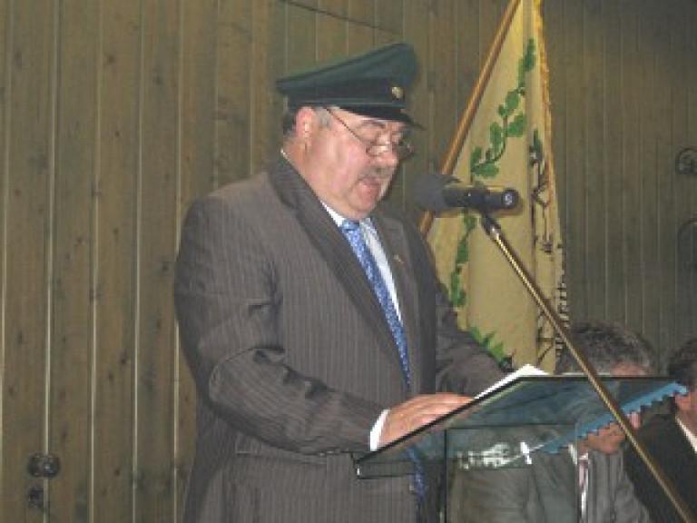 Ordensübergabe 2009 - Major Paul Imhäuser