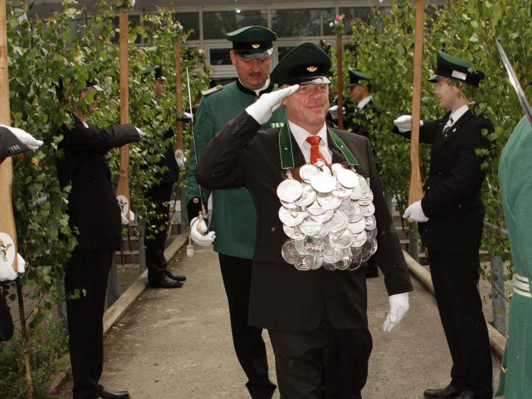 Olper Schützenkönig 2011 - Heribert Wrede