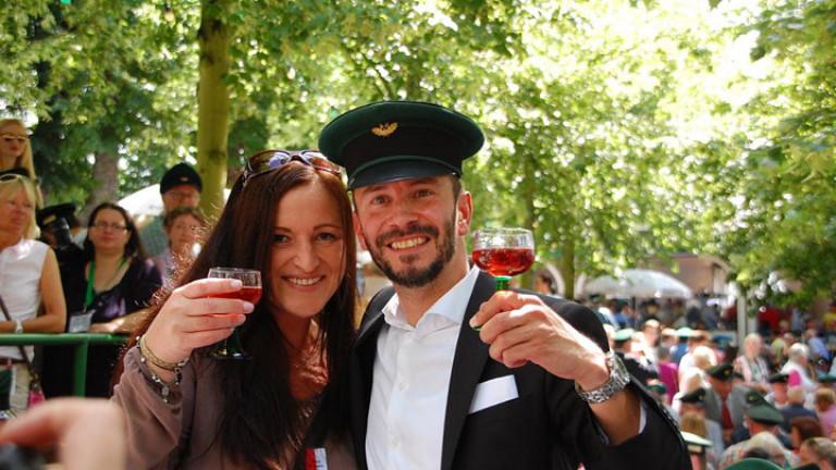 Das neue Königspaar: Stephan Neuhaus und Nicole Menne © Jacqueline Sondermann