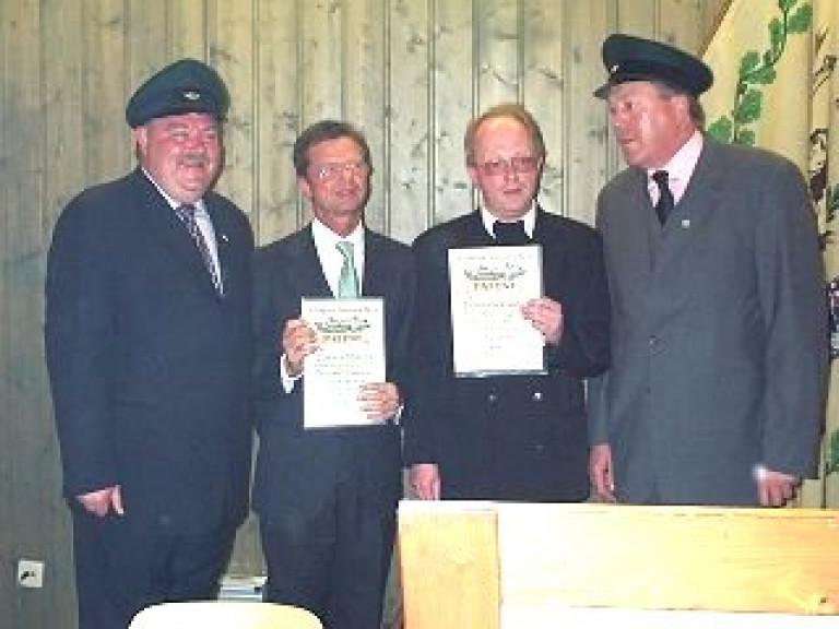 Ordensübergabe 2002