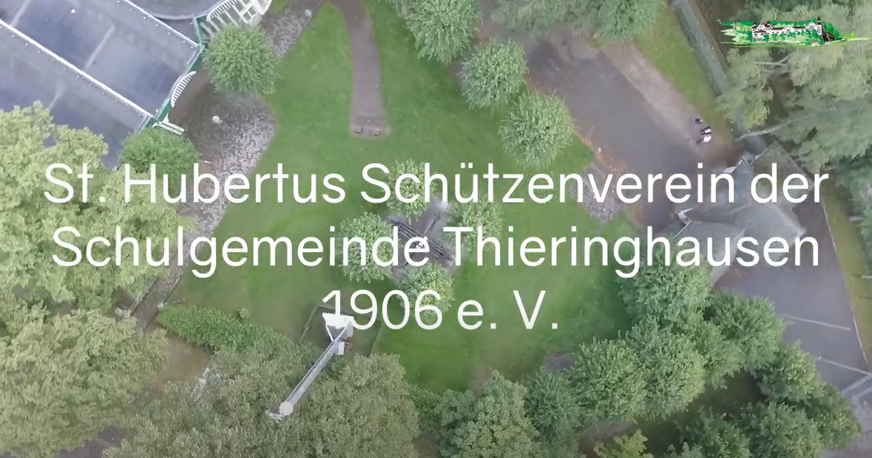Schützengrüße an den St. Hubertus Schützenverein der Schulgemeinde Thieringhausen   4. Teil des Platzrundgangs
