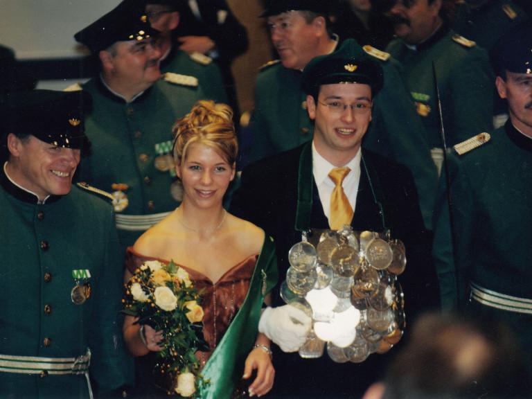 Olper Schützenkönig 2003 - Sebastian Reither