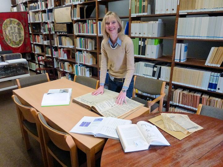 Autorin der Vereinschronik, Frau Andrea Arens