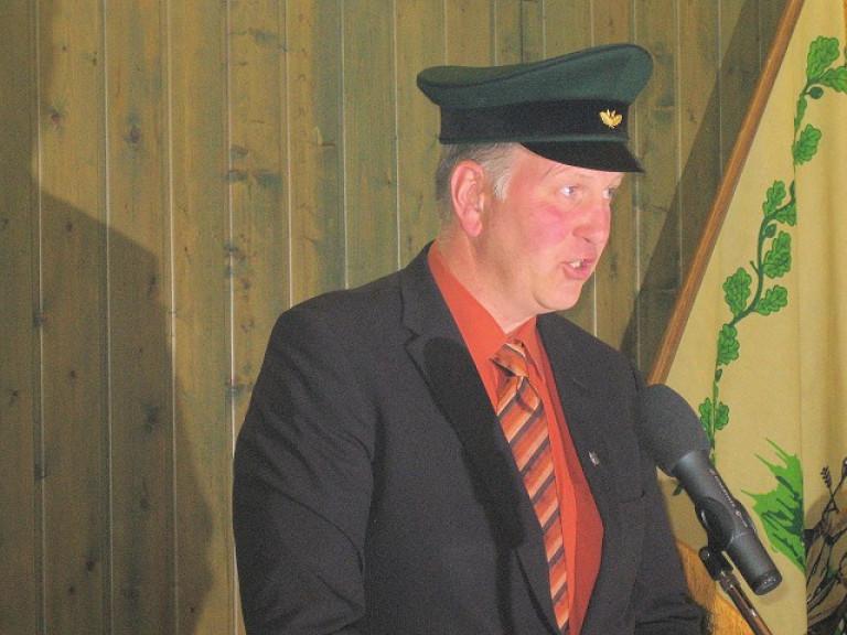 Ordensübergabe 2010 - König Frank Clemens