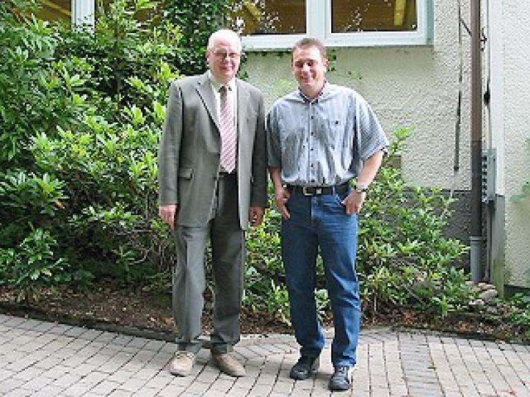 Ordensübergabe 2003