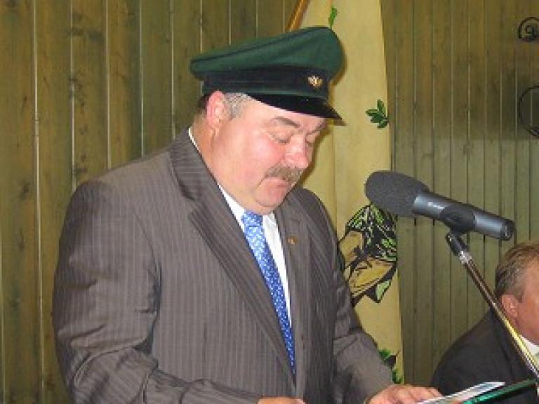 Ordensübergabe 2006 - Major Paul Imhäuser