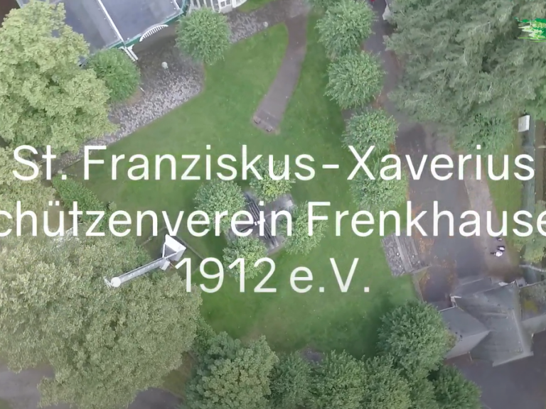 Schützengrüße an den St. Franziskus-Xaverius Schützenverein Frenkhausen   2. Teil des Platzrundgangs
