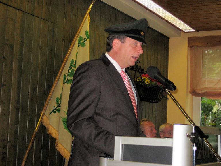 Ordensübergabe 2014 - Major Peter Liese