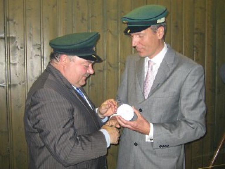 Ordensübergabe 2009