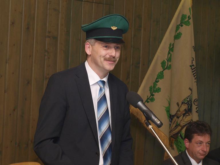 Ordensübergabe 2011 - Schützenkönig Dr. Günter Zeppenfeld