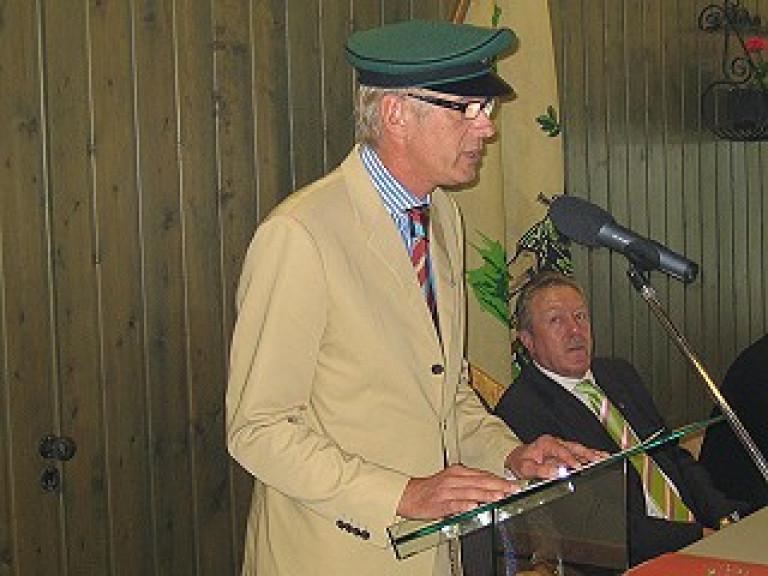 Ordensübergabe 2006 - Schützenkönig Dr. Thomas Schlösser