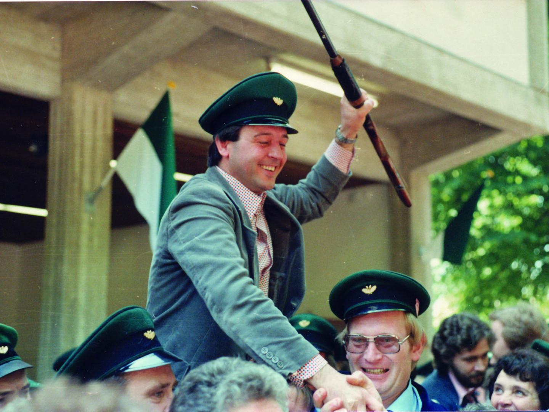Schützenkönig 1978 - Reinhardt Zinke