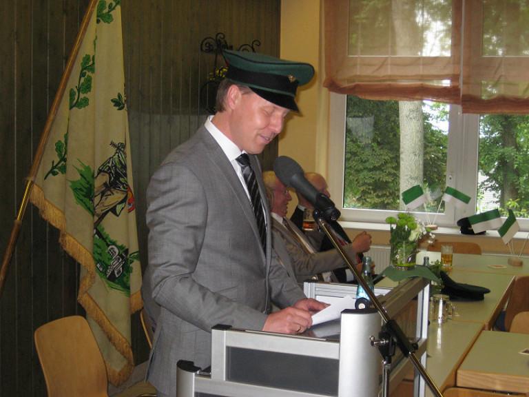 Ordensübergabe 2014 - Schützenkönig Dr. Christian Kuckertz