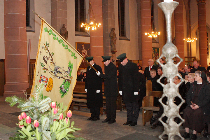 Sebastianus 2011 - Einzug des St. Sebastianus Schützenvorstands