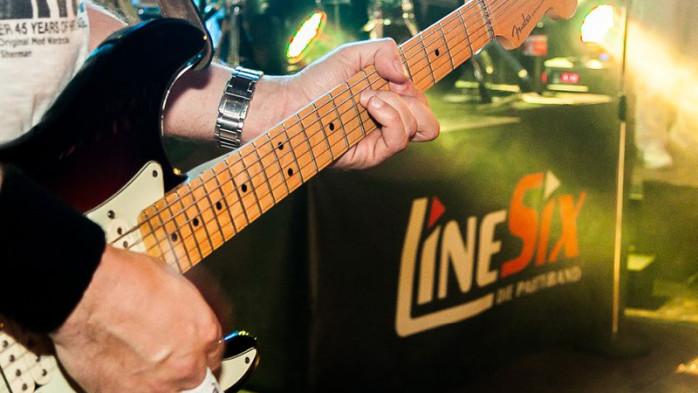 Tanzmusik Line Six Olper Schuetzenfest 2017