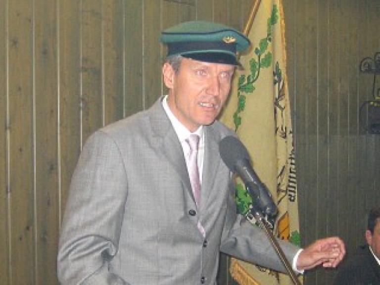 Ordensübergabe 2009 - Schützenkönig Dr. Andreas Reipen