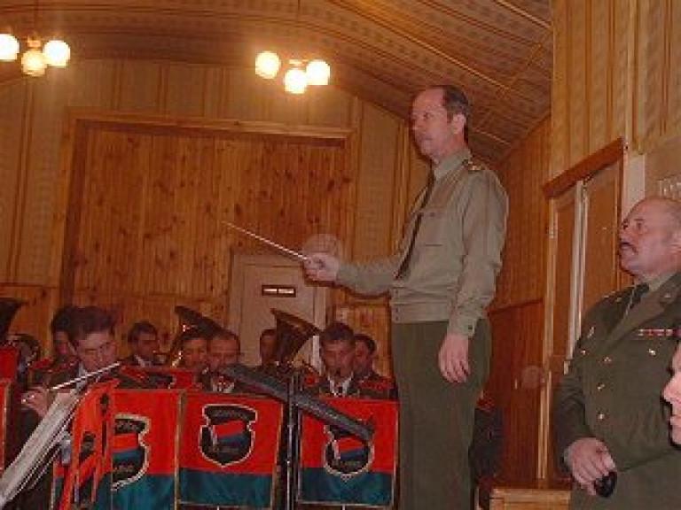 Besuch des Zentralorchesters der Republik Weißrussland