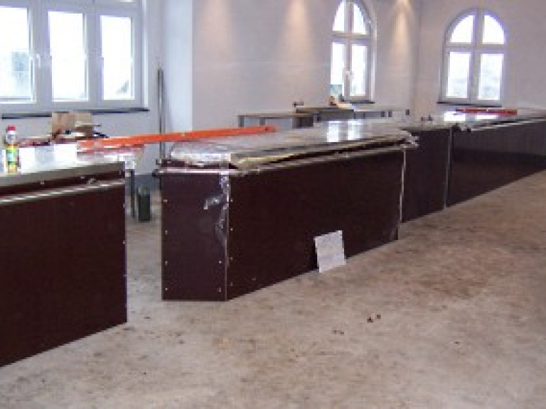 Thekenanlage Schwarzes Zelt 2009