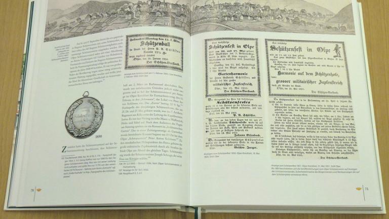Veröffentlichung der Vereinschronik am 15. November 2011