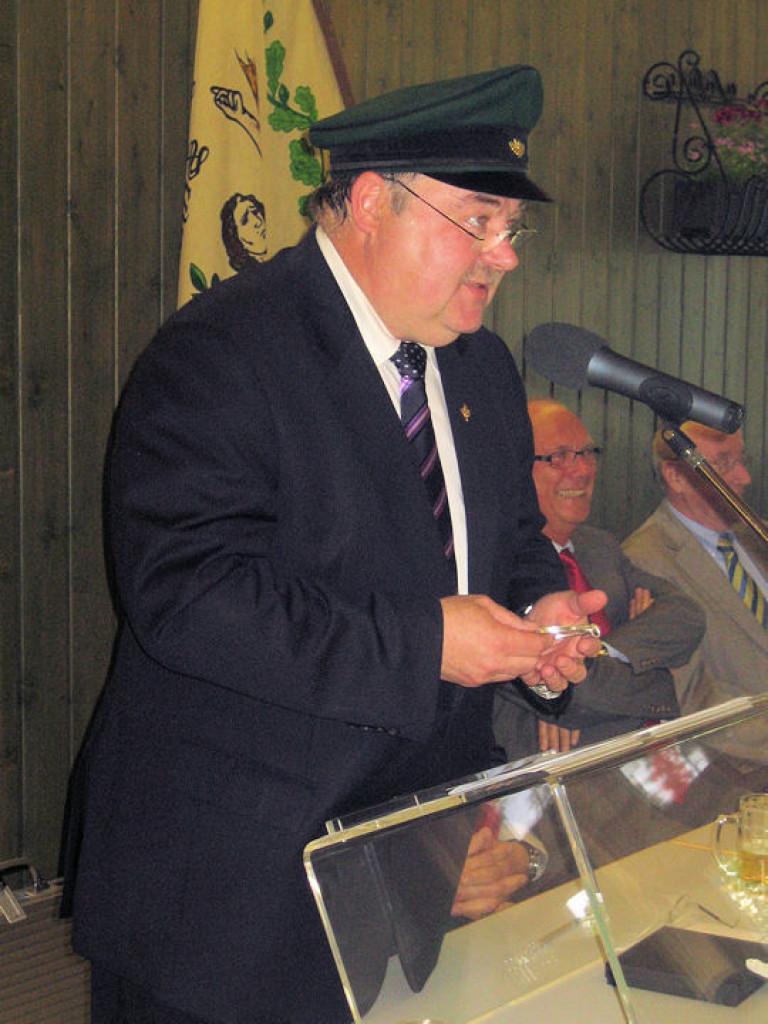 Ordensübergabe 2012 - Major Paul Imhäuser