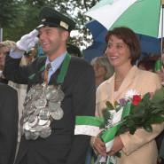 Olper Schützenkönig 1996 - Dirk Rumpf