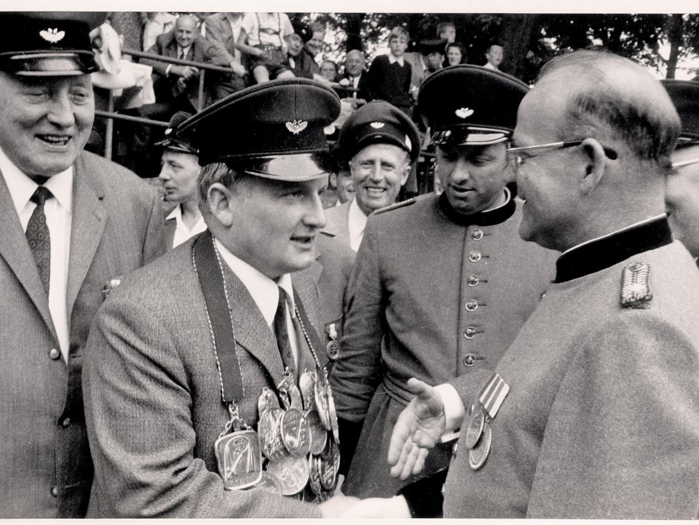 Schützenkönig 1969 - Horst Vesper